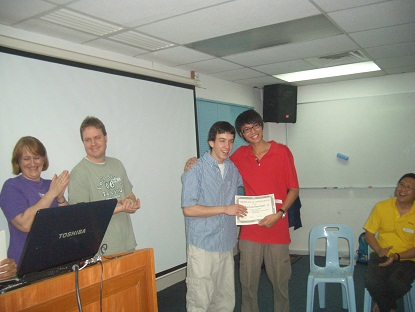 certificate giving ceremony