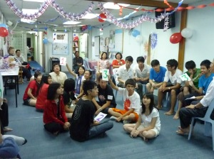 weekly LST Party as a social event for students and teachers
